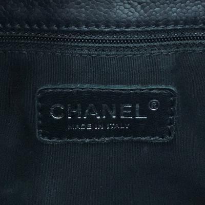 grand-shopping caviar black shoulder bag